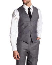 Strong Suit   Alfa Gray Five Button Wool Vest for Men   Lyst