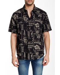 Quiksilver | Black Waterman Short-sleeve Seagate Shirt for Men | Lyst