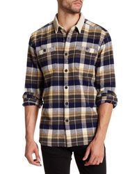 Quiksilver | Blue Regular Fit Corduroy Shirt for Men | Lyst