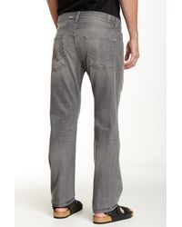 7 For All Mankind - Blue Ronnie Luxe Performance Tex Grey for Men - Lyst