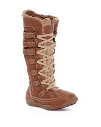 Pajar - Brown Aventure Faux Faux Waterproof Boot - Lyst