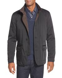 Bugatchi - Black Utility Jacket for Men - Lyst