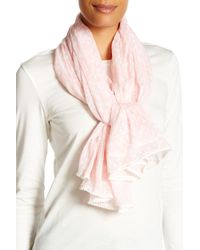Betsey Johnson | Pink Skull Lace Wrap | Lyst