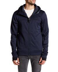 Bench | Blue Thumbhole Zip Jacket for Men | Lyst