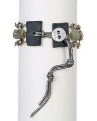 Chan Luu | Multicolor Faceted Labradorite Beads & Sun Link Bracelet | Lyst