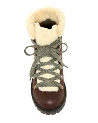 Madden Girl - Brown Bunt Cold Weather Hiker Booties - Lyst