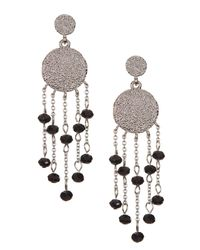 Karen Kane | White Syndy Chandelier Earrings | Lyst