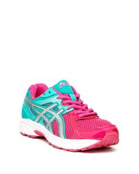 Asics - Pink Gel-contend Gs Sneaker - Wide Width Available (big Kid) - Lyst