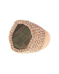 Vince Camuto | Metallic Pave Ring | Lyst