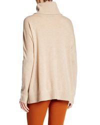 Magaschoni - Natural Cashmere Turtleneck Sweater - Lyst