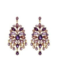 Carolee | Multicolor Chandelier Earrings | Lyst