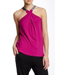 Apres Ramy Brook - Pink Lisa Halter Top - Lyst