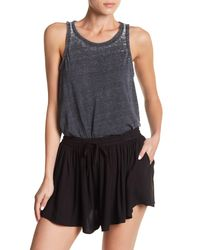 Chaser - Blue Vintage Triangle Back Tank - Lyst