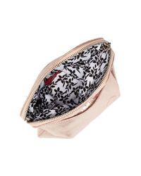 Hobo - Pink Daria Leather Crossbody Clutch - Lyst