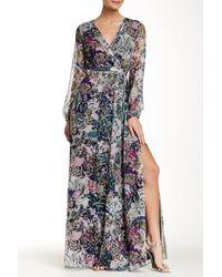 Diane von Furstenberg | Natural Celia Printed Silk-chiffon Maxi Dress | Lyst