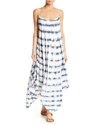 Honey Punch | White Tie Dye Genie Dress | Lyst