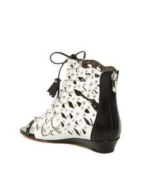 Sam Edelman | Multicolor Daphnie Studded Wedge Sandal | Lyst