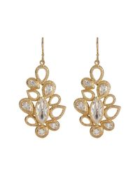 Melinda Maria - Metallic Theo Drop Earrings - Lyst