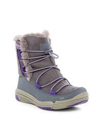 Ryka | Multicolor Aubonne Faux Fur Trim Waterproof Boot | Lyst
