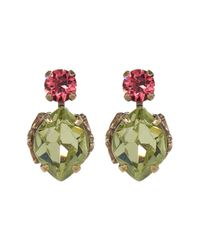 Sorrelli | Multicolor Sweet As Sugar Crystal Earrings | Lyst