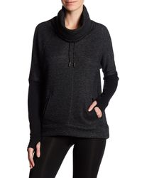 Betsey Johnson - Black Funnel Neck Sweater - Lyst