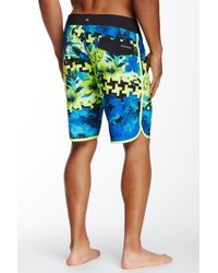 Quiksilver | Blue Holiday Paste Boardshort for Men | Lyst
