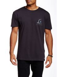 Quiksilver - Blue Happy Trip Graphic Tee for Men - Lyst