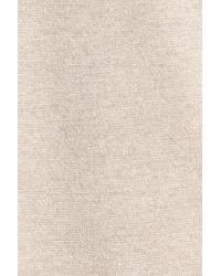 Eileen Fisher - Natural Wool Interlock Knit Jacket - Lyst