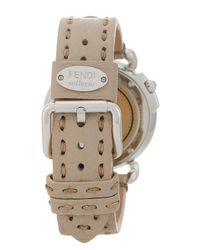Fendi - Multicolor Women's Round Dial Leather Watch - Lyst