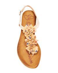 Elegant Footwear | Multicolor Fannyy Sandal | Lyst
