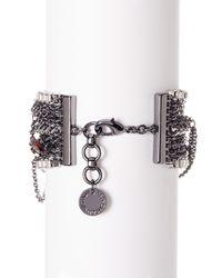French Connection - Multicolor Multi-chain Bracelet - Lyst