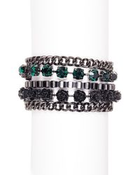 French Connection - Multicolor Multi-row Bracelet - Lyst