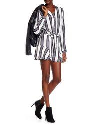 Dress Forum - Blue Stripe Short - Lyst