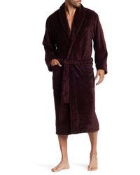 Daniel Buchler - Purple Heathered Terry Robe for Men - Lyst