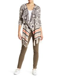 Rip Curl | Multicolor Desert Nights Jacquard Hooded Cardigan | Lyst