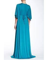 Rachel Pally - Blue Long Caftan Dress - Lyst