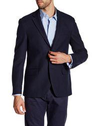 Spurr By Simon Spurr - Blue Textured Sportcoat for Men - Lyst
