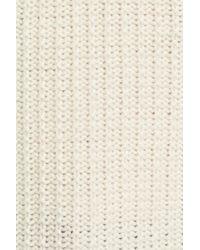 Ivanka Trump - Natural Cowl Neck Sweater - Lyst