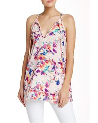 Lily White - Multicolor Floral Halter Top - Lyst