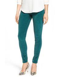Jag Jeans | Green Nora Pull-on Stretch Skinny Corduroy Pants (regular & Petite) | Lyst