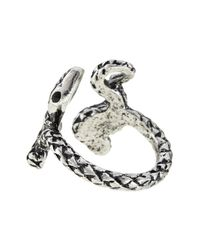 Jenny Bird - Metallic Shakti Open Serpent Ring - Lyst