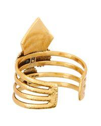 Lucky Brand - Metallic Cuff Bracelet - Lyst