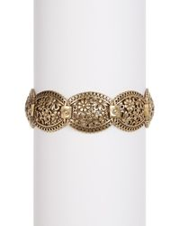 Lucky Brand | Multicolor Lace Openwork Link Bracelet | Lyst