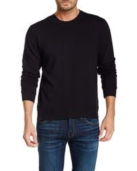 J Brand | Black Potter Crew Neck Sweater for Men | Lyst
