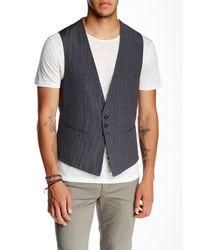 John Varvatos | Multicolor Cutaway Front Vest for Men | Lyst