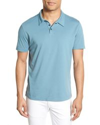 Agave - Multicolor 'collawash' Pima Cotton Jersey Polo for Men - Lyst
