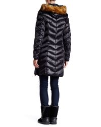 Dawn Levy | Black Abby Quilted Faux Fur Trimmed Jacket | Lyst