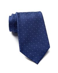 Calvin Klein   Blue Micro Reflection Dot Silk Tie for Men   Lyst