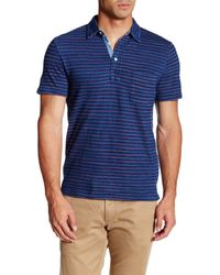 Faherty Brand | Blue Jersey Beach Polo for Men | Lyst