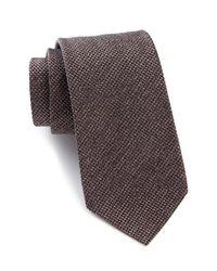 John Varvatos | Multicolor Micro Woven Tie for Men | Lyst